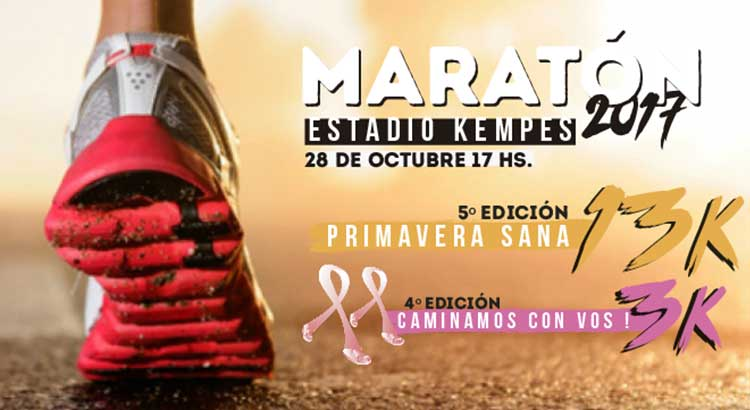 Maratón Primavera Sana 2017