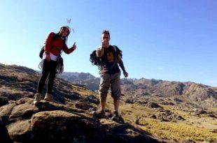 Caminatas, escalada y rapel en las Altas Cumbres