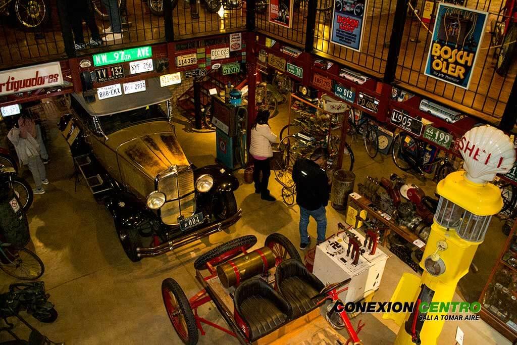 Museo de motos y bicicletas en La Cumbre